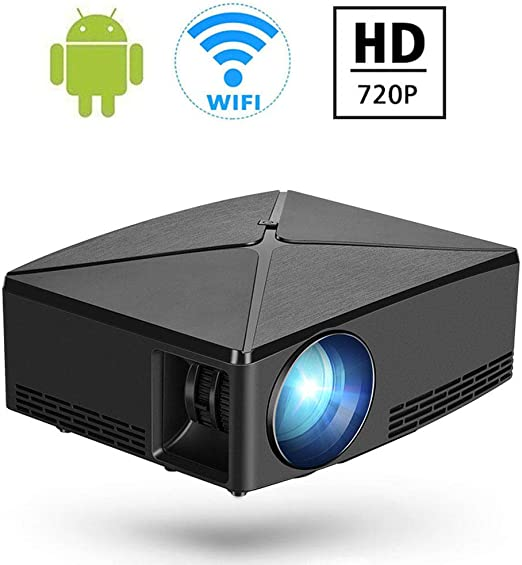 DAETNG Mini proyector inalámbrico 720P Soporte Pantalla de 180 ...
