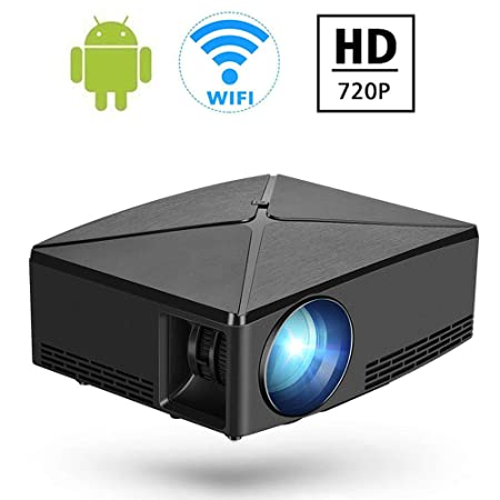 DAETNG Mini proyector inalámbrico 720P Soporte Pantalla de ...