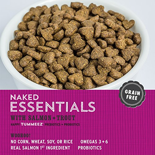 """I and love and you"" Naked Essentials Salmon & Trout Grain Free Dry Dog Food, 4 LB"