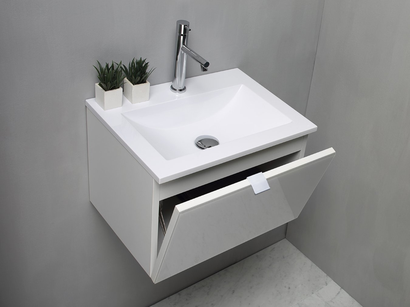 Awesome lavandino bagno sospeso ideas for Mobile lavabo