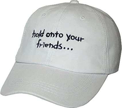 c6c3f4090ea Image Unavailable. Image not available for. Color  YCMI Womens Adjustable Funny  Sayings Hold Onto Your Friends Baseball Cap ...