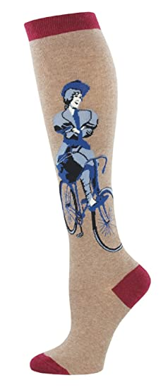 d7ee0a33b Image Unavailable. Image not available for. Color  Socksmith Women s  Novelty Knee High Socks quot Try and Stop ...