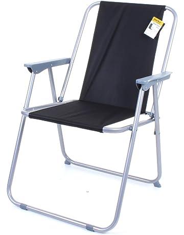 Terrific Folding Chairs Garden Outdoors Amazon Co Uk Ncnpc Chair Design For Home Ncnpcorg