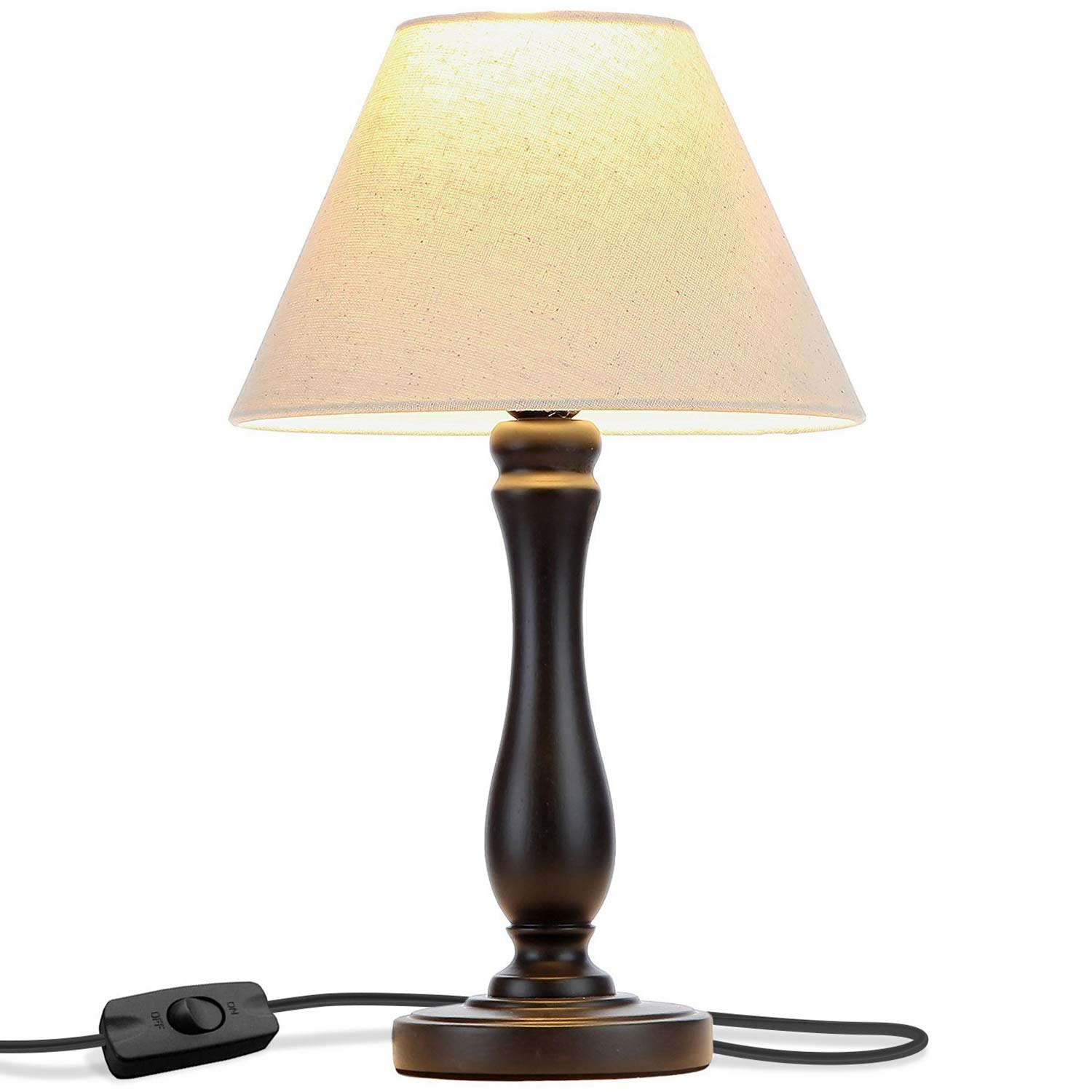 Brightech Noah LED Side Bedside Table & Desk Lamp