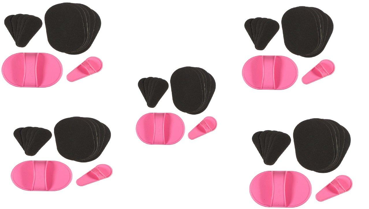 5 PACKS X DEPILADOR & EXFOLIADOR 50 almohadilla prendieron para piel piernas brazo cara depilación de labio superior