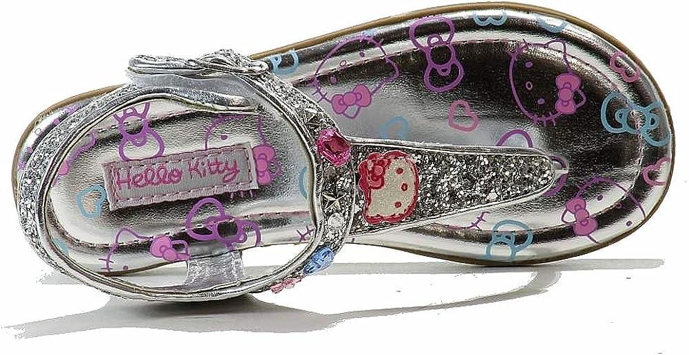Hello Kitty Toddler Girls HK Lil Shimmer Light Pink Fashion Sandal Shoes