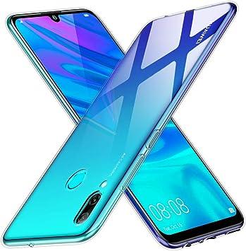 Peakally Funda Huawei P Smart 2019, Transparente Silicona Funda para Huawei P Smart 2019 Carcasa Flexible Claro Ligero TPU Fundas [Antideslizante] [Resistente a arañazos]-Transparente: Amazon.es: Electrónica