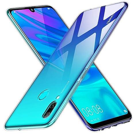 Peakally Funda Huawei P Smart 2019, Transparente Silicona Funda para Huawei P Smart 2019 Carcasa Flexible Claro Ligero TPU Fundas [Antideslizante] ...