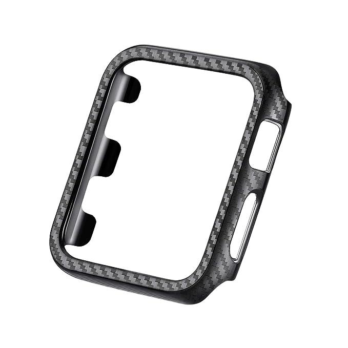 Clatune Smartwatch - Marco Protector de Fibra de Carbono ...
