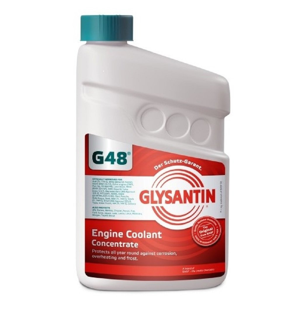 Glysantin G48 Engine Coolant Concentrate Car Motorbike Saab
