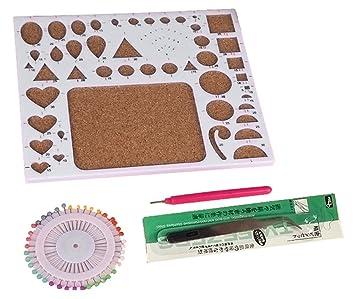 rosesummer DIY herramienta para filigranas de papel para plantilla molde Junta: Amazon.es: Juguetes y juegos