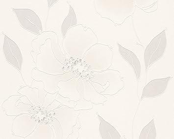 Schöner Wohnen Vliestapete Tapete floral 10,05 m x 0,53 m ...