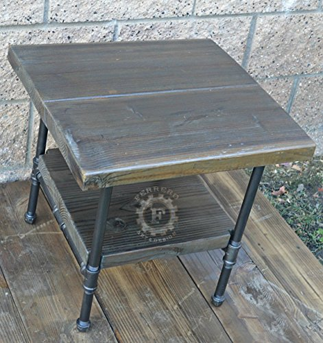 super popular 02425 98520 Steampunk Table, Industrial Nightstand, Industrial Decor ...