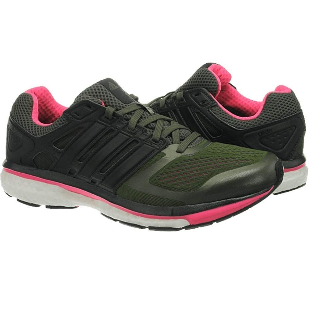 Adidas Supernova Glide Boost Damenlaufschuhe Damenlaufschuhe Damenlaufschuhe grün schwarz 1b0664