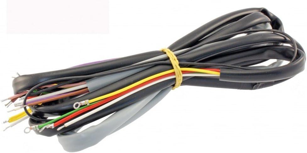 ohne E-Starter Kabelbaum komplett RMS f/ür Vespa PX80-200 Lusso ohne Batterie