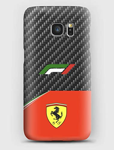 low priced 55f39 9f499 F1 carbon Ferrari Cover Samsung S6, S7, S8, S9, A3, A5, A7,A8, J3 ...