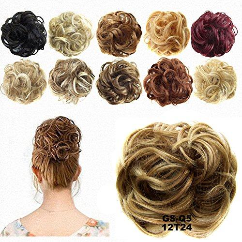 FESHFEN Hairpiece Ponytail Extensions Wig 12T24 product image