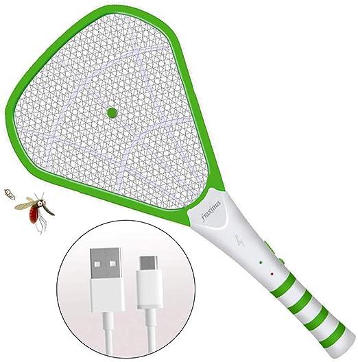 Raquette /électrique anti insectes Moustiques mouches et gu/êpes Rapide et s/ûr