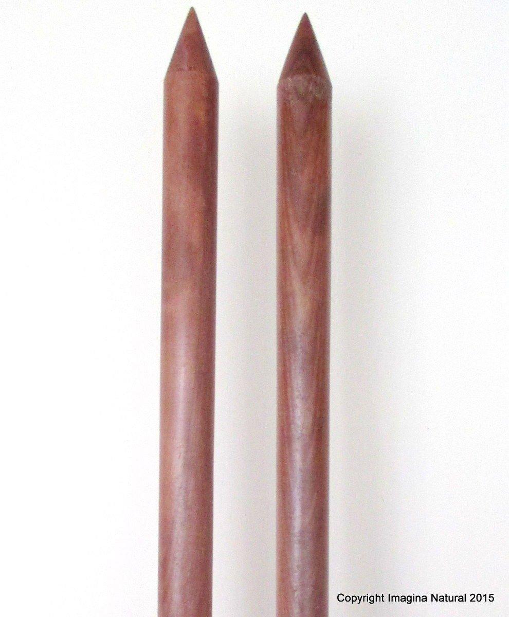 Amazon Com Jumbo Giant Thickness Chile Oak Knitting Needles