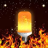 Led Bulbs, LIFU Flame Lighting LED Flicker Flame Bulbs E27 1500K Creative Lights with Flickering Emulation Atmosphere Decorative Lamps for Home,Garden,Party,Bar,Wedding,Festival Decora