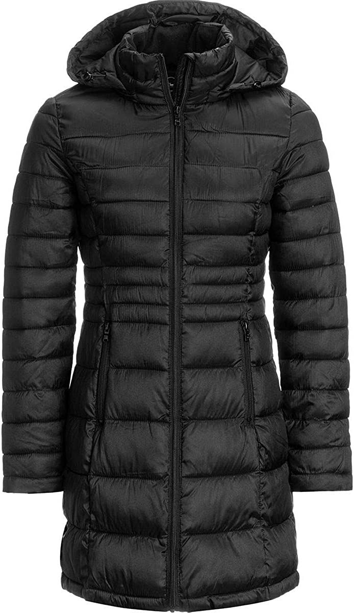 Celsius Womens Lightweight Long Wellon Jacket