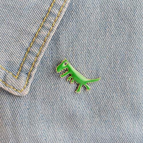 Price comparison product image - 1 Dinosaur Shape Metal Badge Fashion Pin Shipping Icon Backpack Clothing - Computer & Electronic Phone & Accessory Wedding & Event Online Shopping Toy & Sport Home & Garden - 1PCs