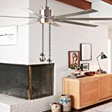 Ceiling Fan Chain, Anchor Design 12 inch Pull Chain for Ceiling Fan light Decoration, Bronze