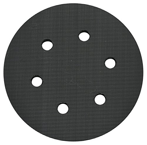 PORTER-CABLE 18001 6-Inch 6-Hole Hook and Loop Standard Pad for 7336 and 97366 Random Orbit Sander ()
