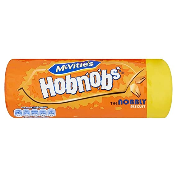 Mcvities - Hobnobs - Galletas de avena y trigo - 300 g - Pack de 2
