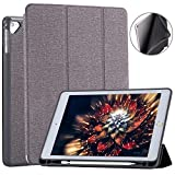 RMSromastar iPad 9.7 2018/2017 Case with Pencil Holder,Lightweight Smart Tri-Fold Cover with Auto Sleep/Wake Function for Apple iPad 9.7 Inch 6th Generation(A1893/A1954)