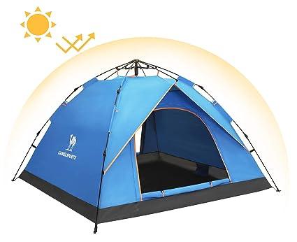 Image Unavailable  sc 1 st  Amazon.com & Amazon.com : Camel 2-3 Person Family Automatic Hydraulic Tent ...