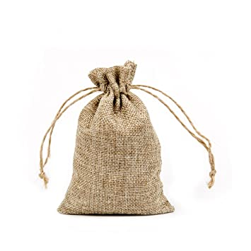Bolsas de arpillera, de Shintop, pequeñas y con cordón, para ...