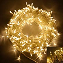 EShing 66ft 200 LED Warm White Fairy String Lights for Outdoor, Yard, Garden, Home, Garden, Path, Chrismas Day, Landscape Decoration (Warm White)