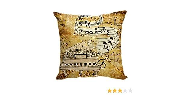 Pillow Cover Funda de cojín DE 55 x 55 cm, Funda de cojín ...