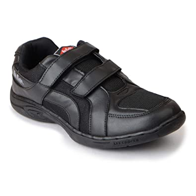 10d075cddde6e5 Lee Cooper Kids Black School Shoe  Buy Online at Low Prices in India -  Amazon.in