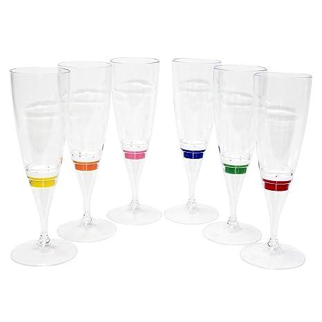 Amazon Led Light Up Wine Glasses Champagne Flutes Cocktail