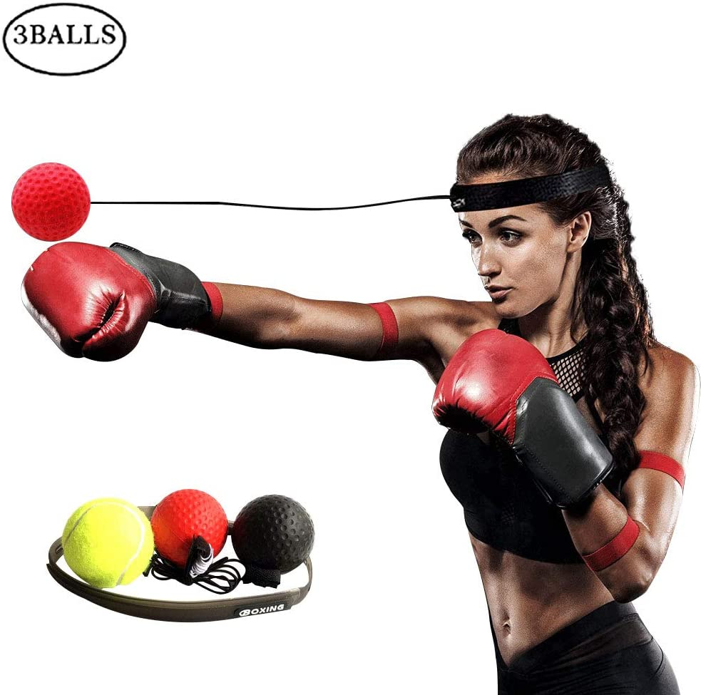 Boxing Training Ball Boxing Reflex Ball Decompression Boxing Quick Puncher
