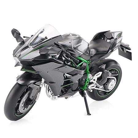 KaKaDz Modelo de Motocicleta 1:12 Kawasaki H2R Carretera ...