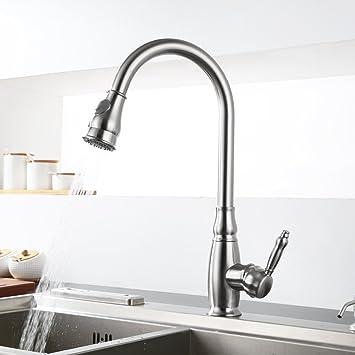 Homfa Modernes Pull Einzigen Loch Zwei Wasser Anschluss Modelle