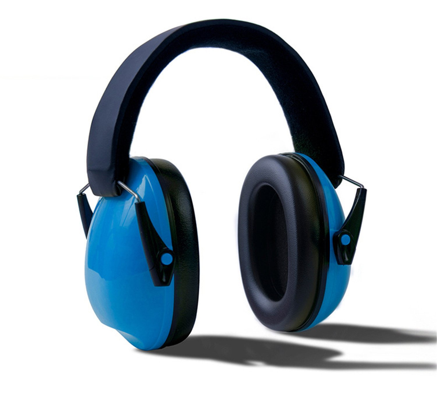 HMILYDYK Kids Ear Defenders Noise Cancelling HeadPhones Foldable Hearing Protectors Adjustable Headband Ear Muffs for Children and Small Adults