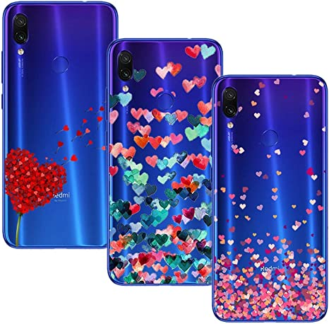 Young Ming (3 Pack) Funda Para Xiaomi Redmi Note 7/ Redmi Note 7 ...