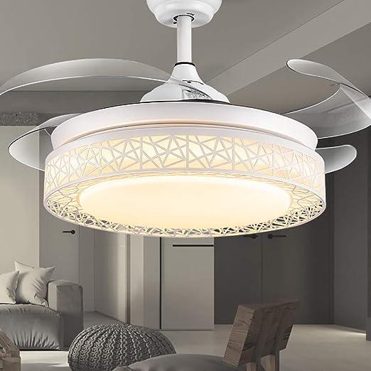 YBCD - Lámpara Invisible para Ventilador de Techo (107 cm), diseño ...