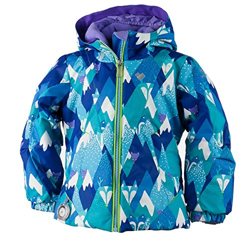 Obermeyer Kids Baby Girl's Ashlyn Jacket (Toddler/Little Kids/Big Kids) Blue Mountains 3T Toddler Jackets Shop