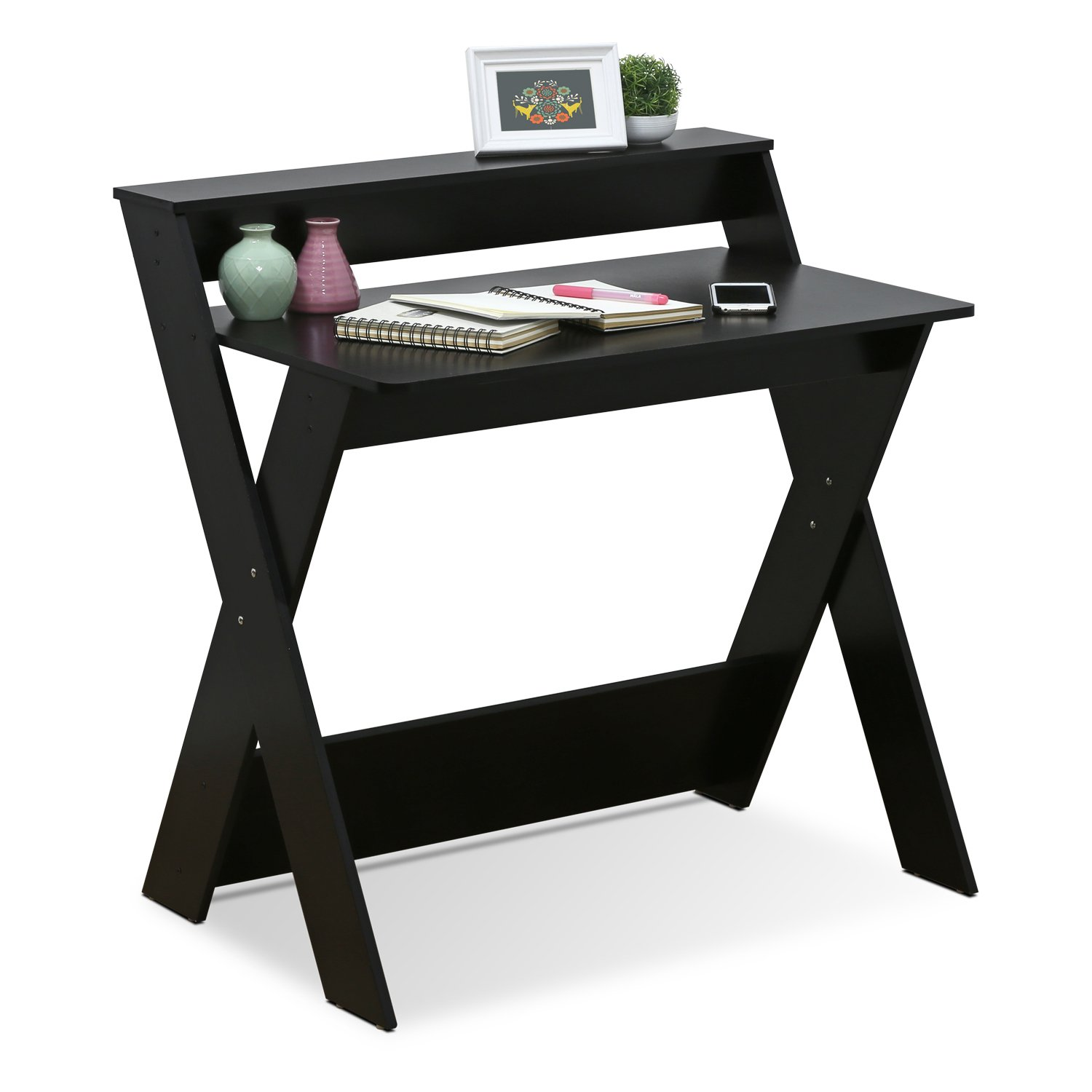 Furinno 16047EX Simplistic Criss-Crossed Home Office Study Desk by Furinno (Image #4)