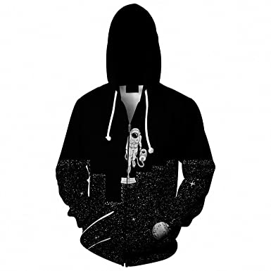 The Vacuum of Space// Space Cleaner Pullover Hoodie