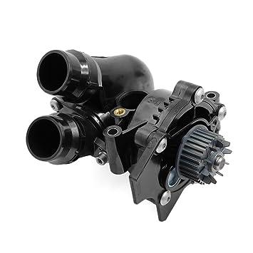 uxcell marca nueva bomba de agua termostato Asamblea 06h121026ba para Audi Q5 A3 A4 A5 A6