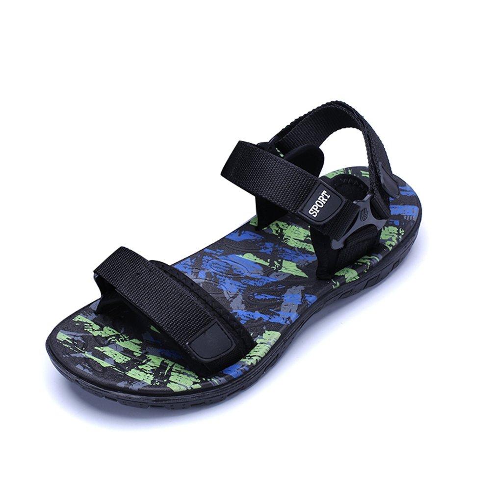 Mens Shoes Sommer Fashion Strandsandalen Mauml;nner Bequeme Atmungsaktive Casual Sandalen Schuhe fuuml;r Mauml;nner Sandalias  45 EU|Gr眉n