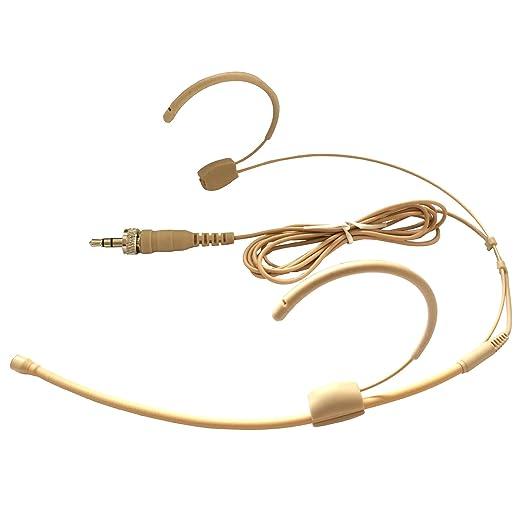 3 opinioni per Microdot 40156 Cuffie con microfono wireless ad archetto, per trasmettitore