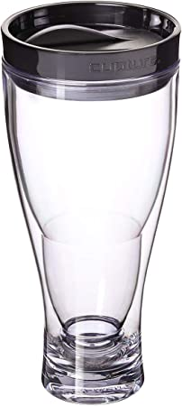Henry Cornell and Associates 5689 Hofbrauhaus 0.50L Glass Boot 0.5 L Clear
