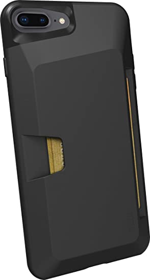 Smartish iPhone 7 Plus / 8 Plus Wallet Case , Wallet Slayer Vol.1 [Slim +  Protective + Grip] Credit Card Holder for Apple iPhone 8 Plus / 7 Plus